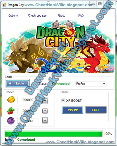 cheats gems dragon city