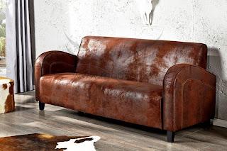 luxusna troj sedacka v hnedej farbe, sedacka v modernom dizajne