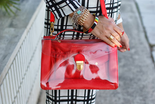 marc by marc jacobs clearly bag, transparent bag, Fashion and Cookies, fashion blogger
