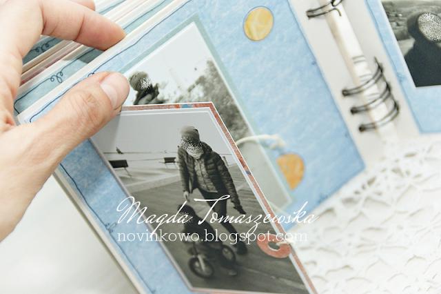 studio75 mini album, album, splash it, mały kolorowy album