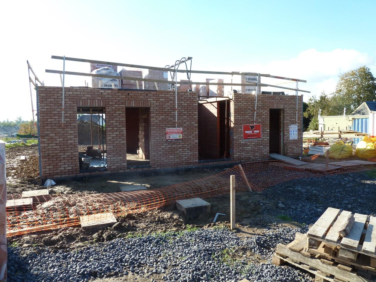 La construction de notre maison ma onnerie for Aurora maison de cuisine dallas
