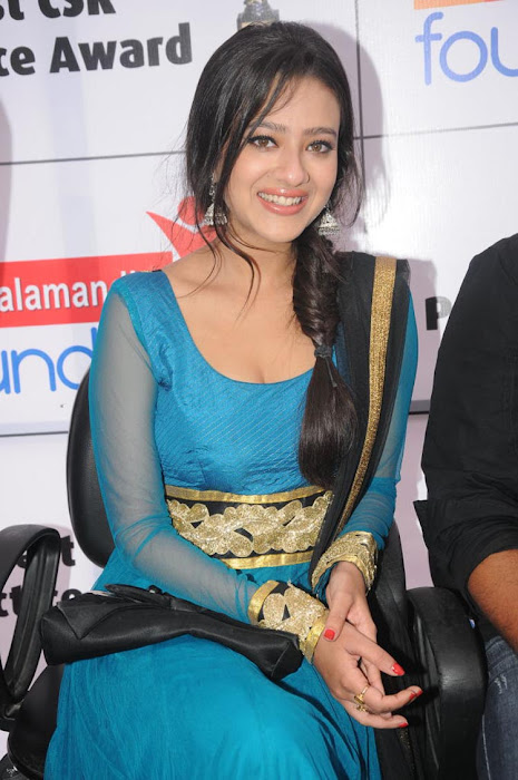 madalsa sharma spicy in salwar at event photo gallery