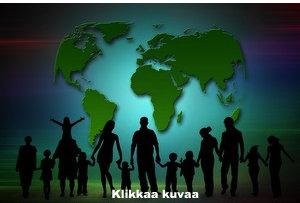 Maat, väestö ja maiden pinta-alat