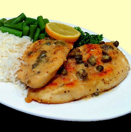 Sauteed Chicken Cutlets With Sage And Capers Recipe — Dishmaps