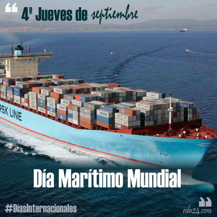4º jueves de septiembre – Día Marítimo Mundial #DíasInternacionales