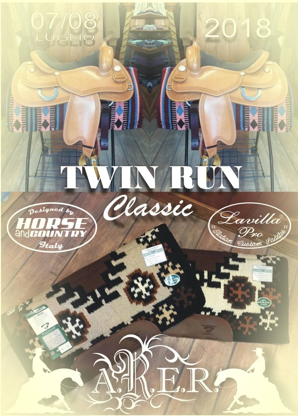 ARER, TAPPA 4^ CON TWIN RUN