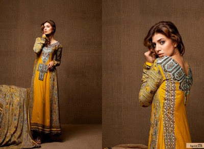 Rabea Embroidered Linen Collection 2013
