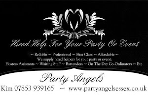 Party Angels - KInd Sponsors of Billericay Boxing Club
