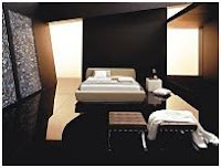 BLACK BEDROOMS - COLORS FOR BEDROOMS - BEDROOMS BY COLORS - BEDROOMS AND COLORS - MEANING OF COLORS