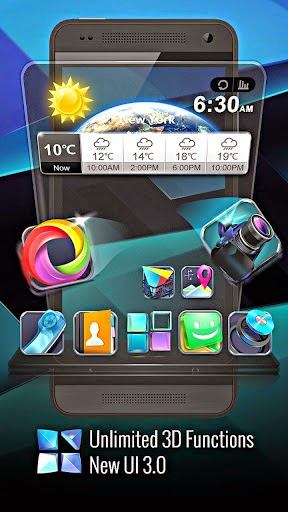 Next Launcher 3D Shell for android