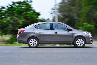 new Nissan sunny Dci side view