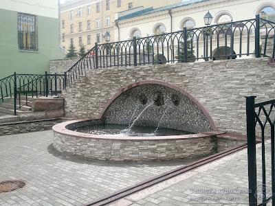 Улица Миславского, фонтан