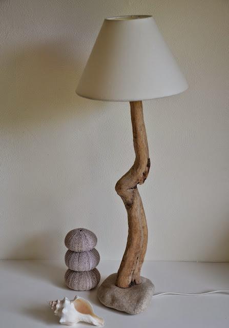 la petite verri re cr er des lampes en bois flott. Black Bedroom Furniture Sets. Home Design Ideas