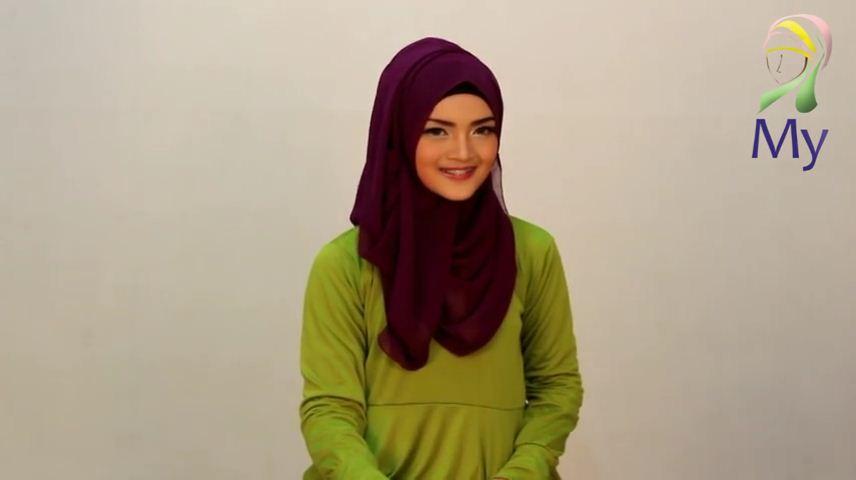 Tutorial Hijab Pashmina Imut Cantik Keren By Mybamus