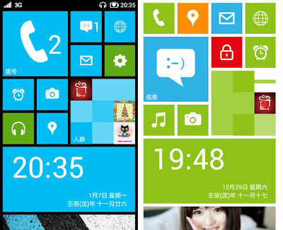 windows phone 8 like launcher for android