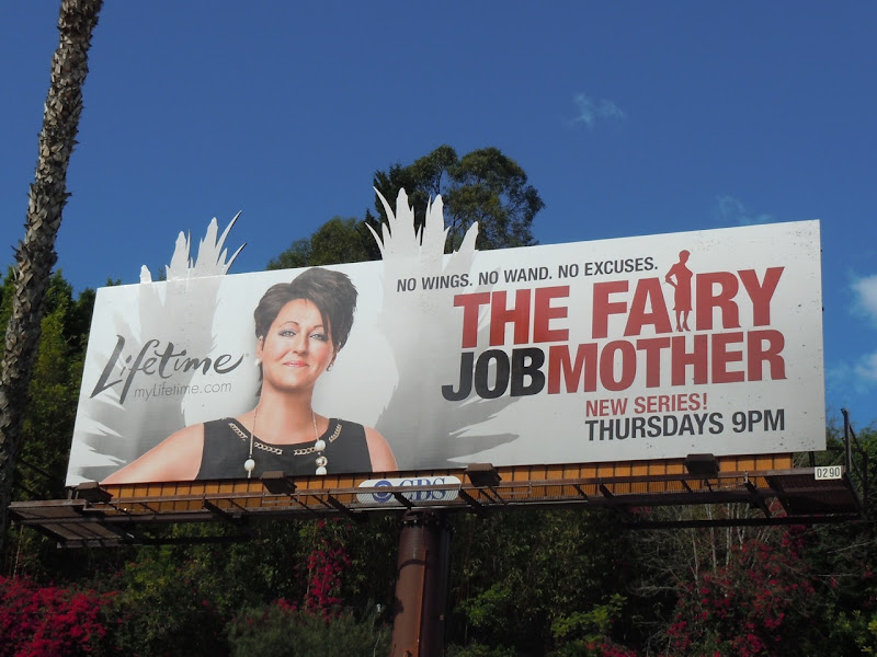 Fairy Jobmother Lifetime billboard