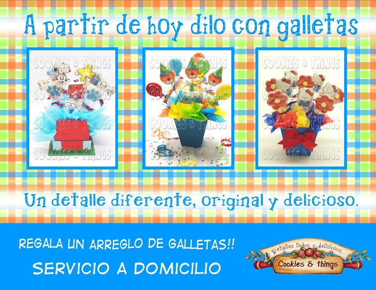 arreglos de galleta a domicilio