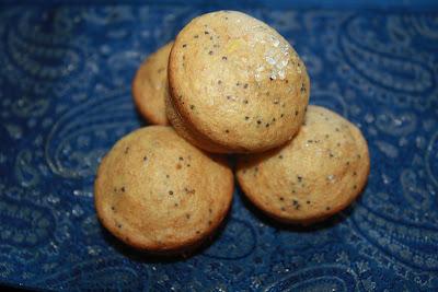 vegan lemon poppy seed muffins