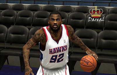 NBA2K13 DeShawn Stevenson Cyberface Patch 2K
