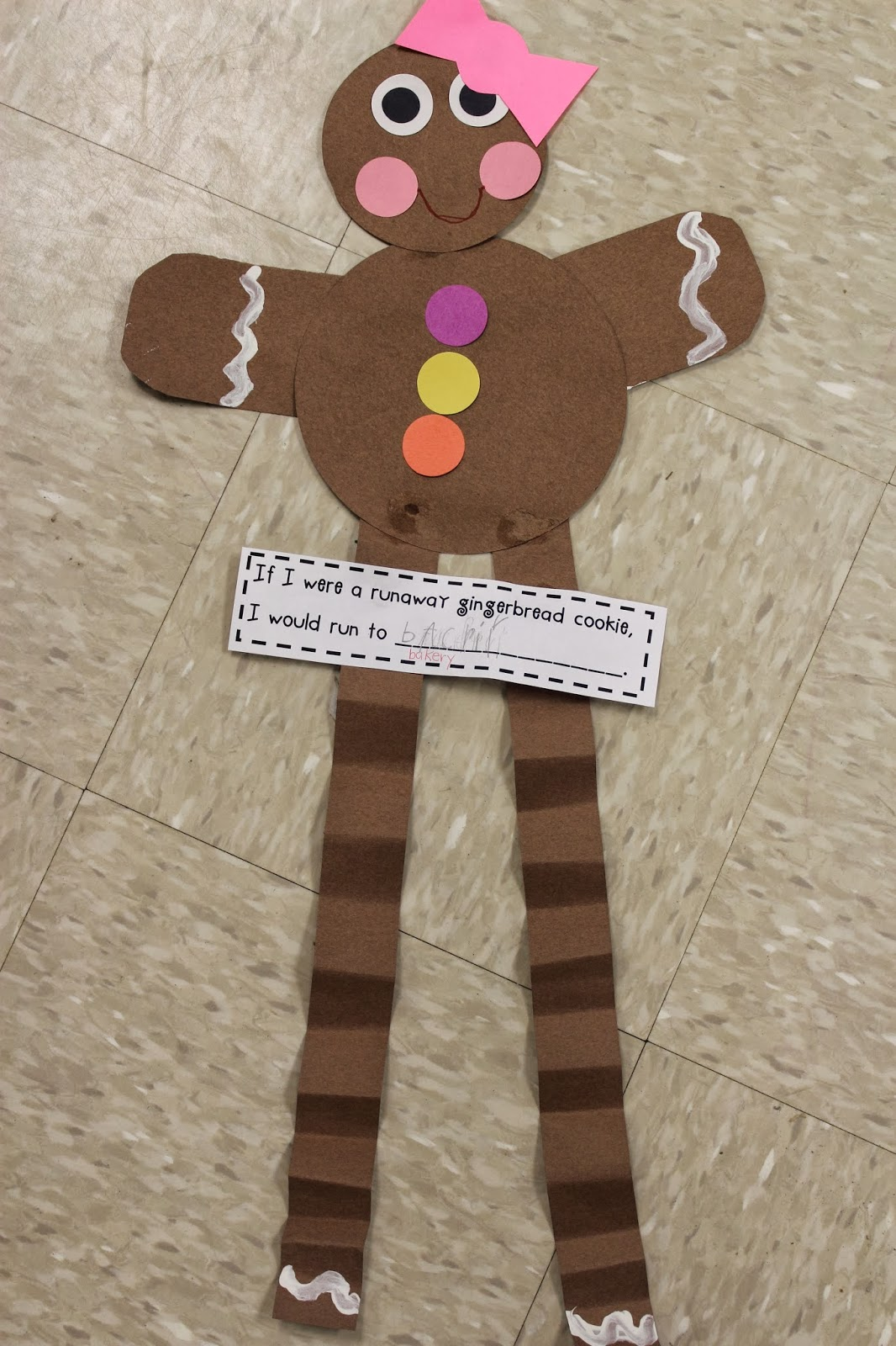 Mrs lee 39 s kindergarten gingerbread man ideas for Gingerbread crafts for kindergarten
