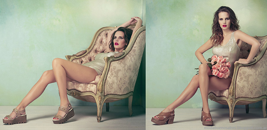 Lady Stork primavera verano 2015 sandalias y zapatos.