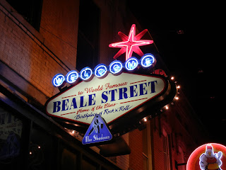 Beale street sign in Memphis, TN