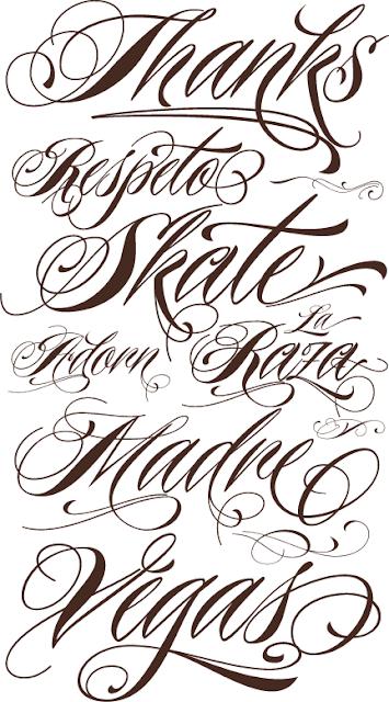 Free Tattoo Fonts
