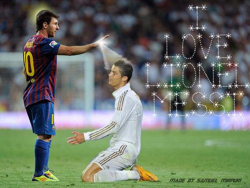 Lionel Messi Vs Ronaldo 2012 2013 Wallpapers