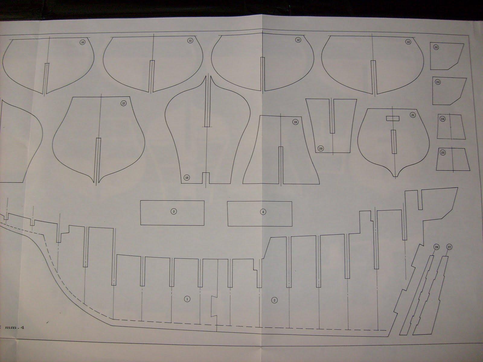 Galeone elisabettiano inizio dei lavori for Come costruire un mazzo di 2 piani