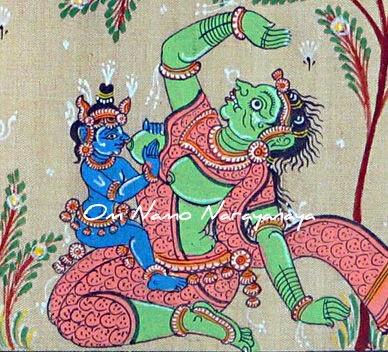 கண்ணன் கதைகள் (29) - பூதனை மோக்ஷம் / பூதனா மோக்ஷம், கண்ணன் கதைகள், குருவாயூரப்பன் கதைகள்,