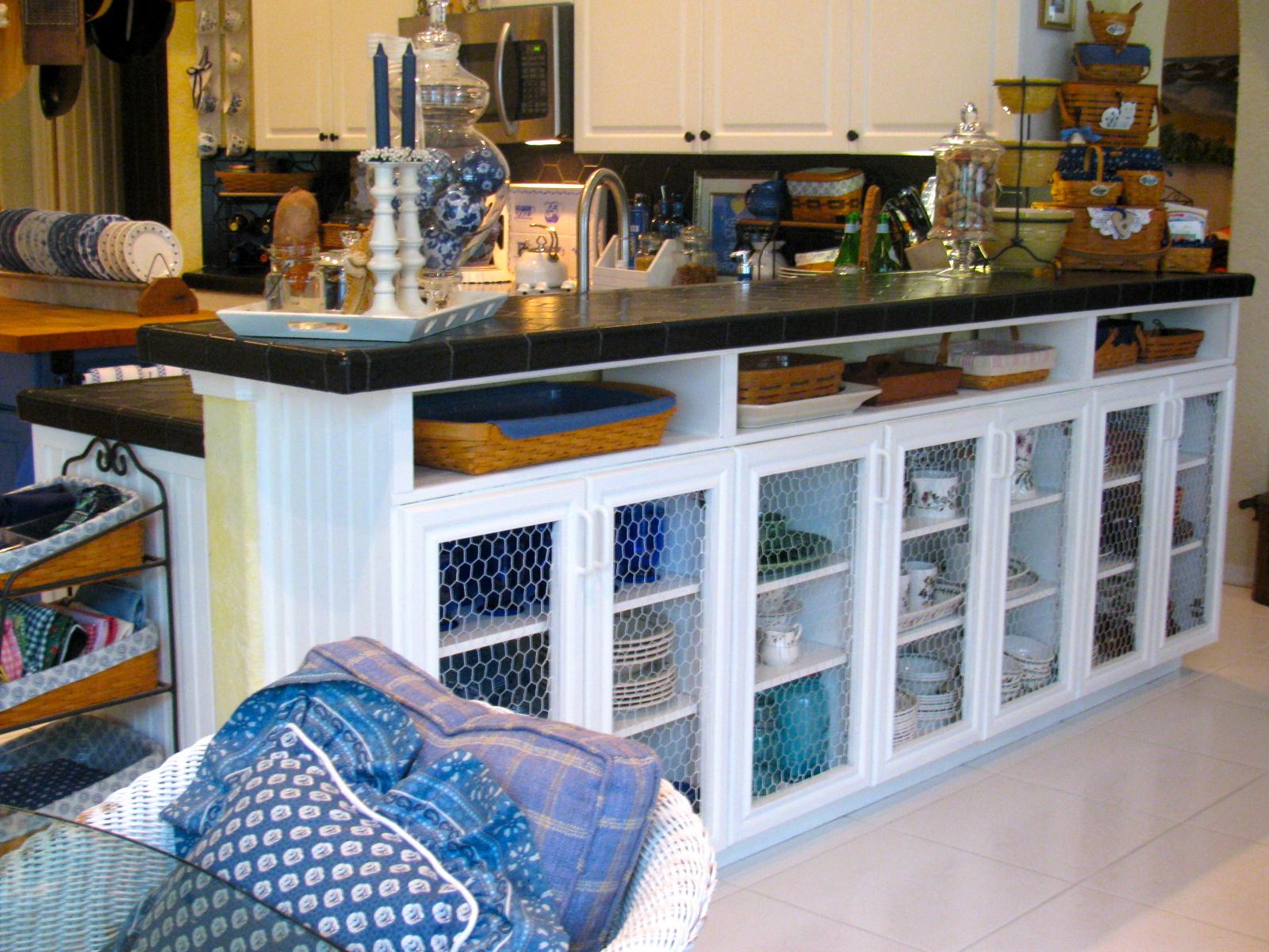 Cabinets Under Breakfast Bar