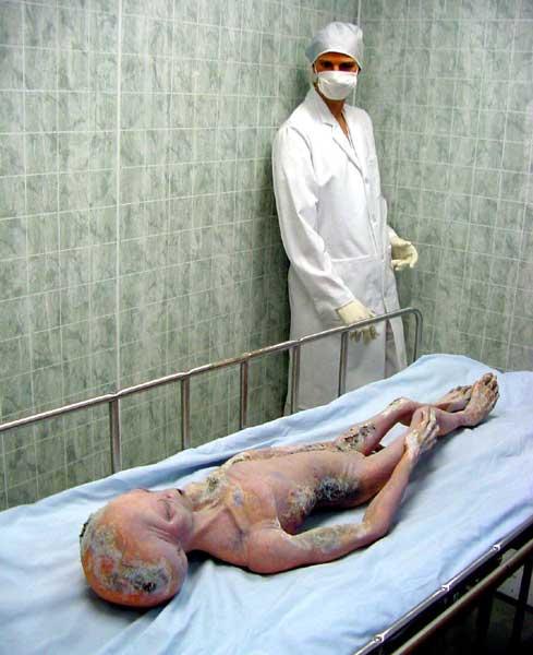 Dead alien found in ufo hotspot in rusia