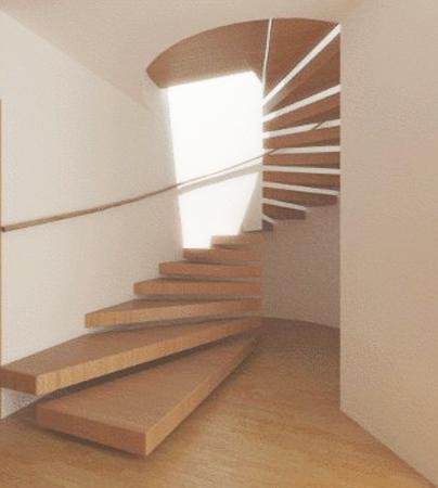 Decoraci n y arquitectura escaleras de caracol spiral for Espacios minimos arquitectura