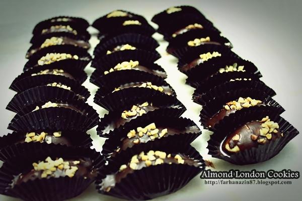 Almond Cookies Resepi Resepi | Almond London Cookies