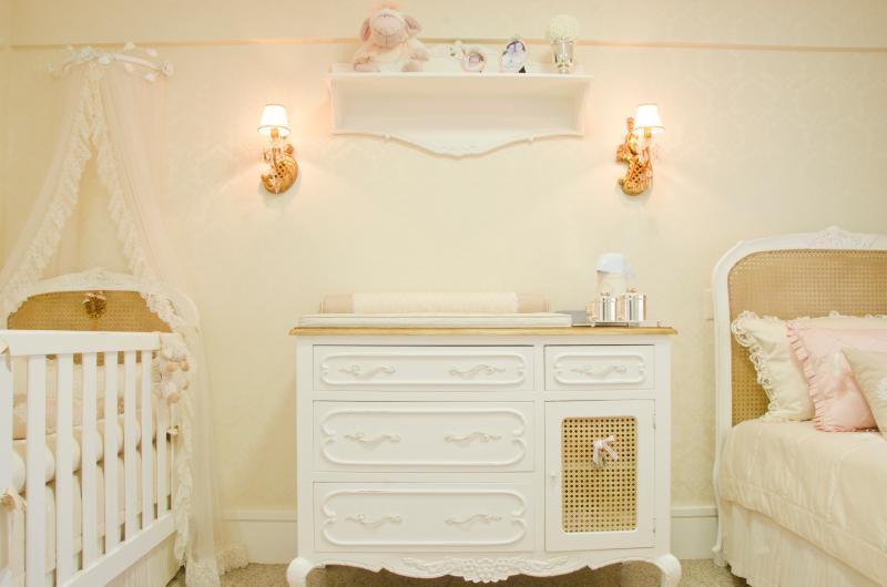 Oz Cores perfeitas (e nada convencionais) para o quarto do bebê