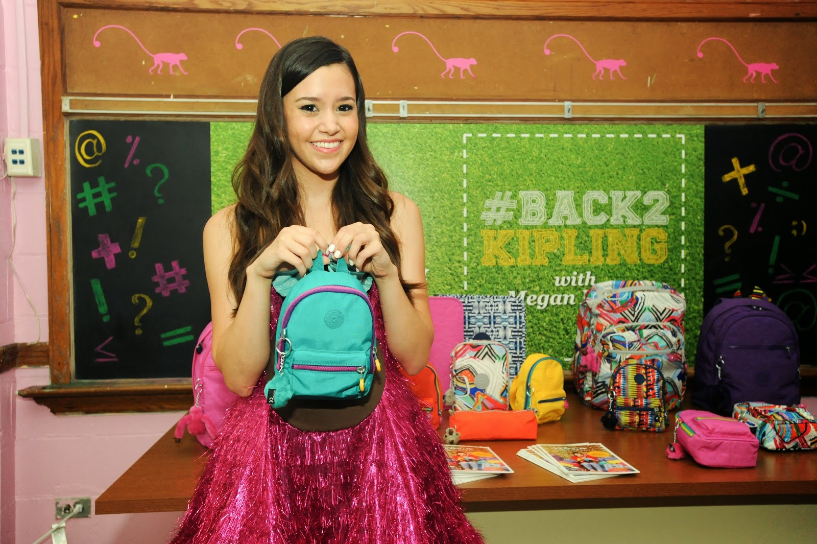 Kipling Launches #Back2Kipling Campaign with Megan Nicole