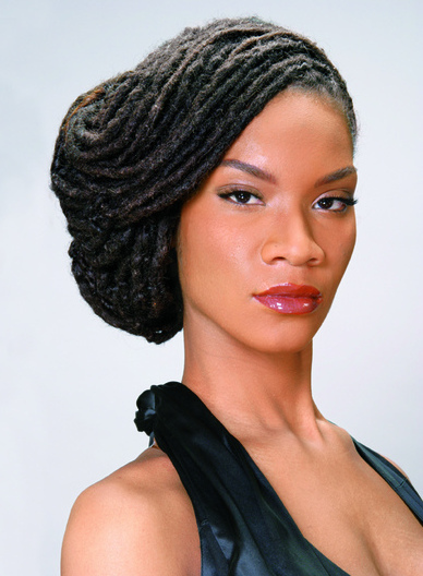 Swoop Updo | Black Women Natural Hairstyles