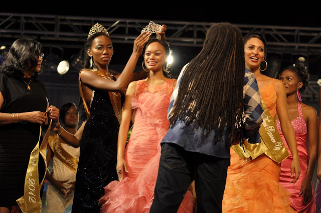 Rachel de la Fuente is Miss Suriname 2012