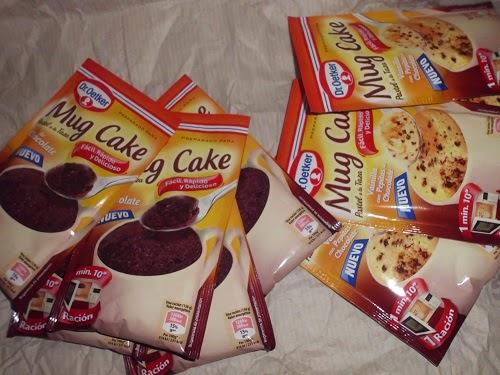 Preparado para Mug Cake Dr Oetker