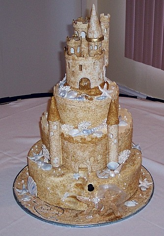 Oh One Fine Day Wedding Cakes Beach Style