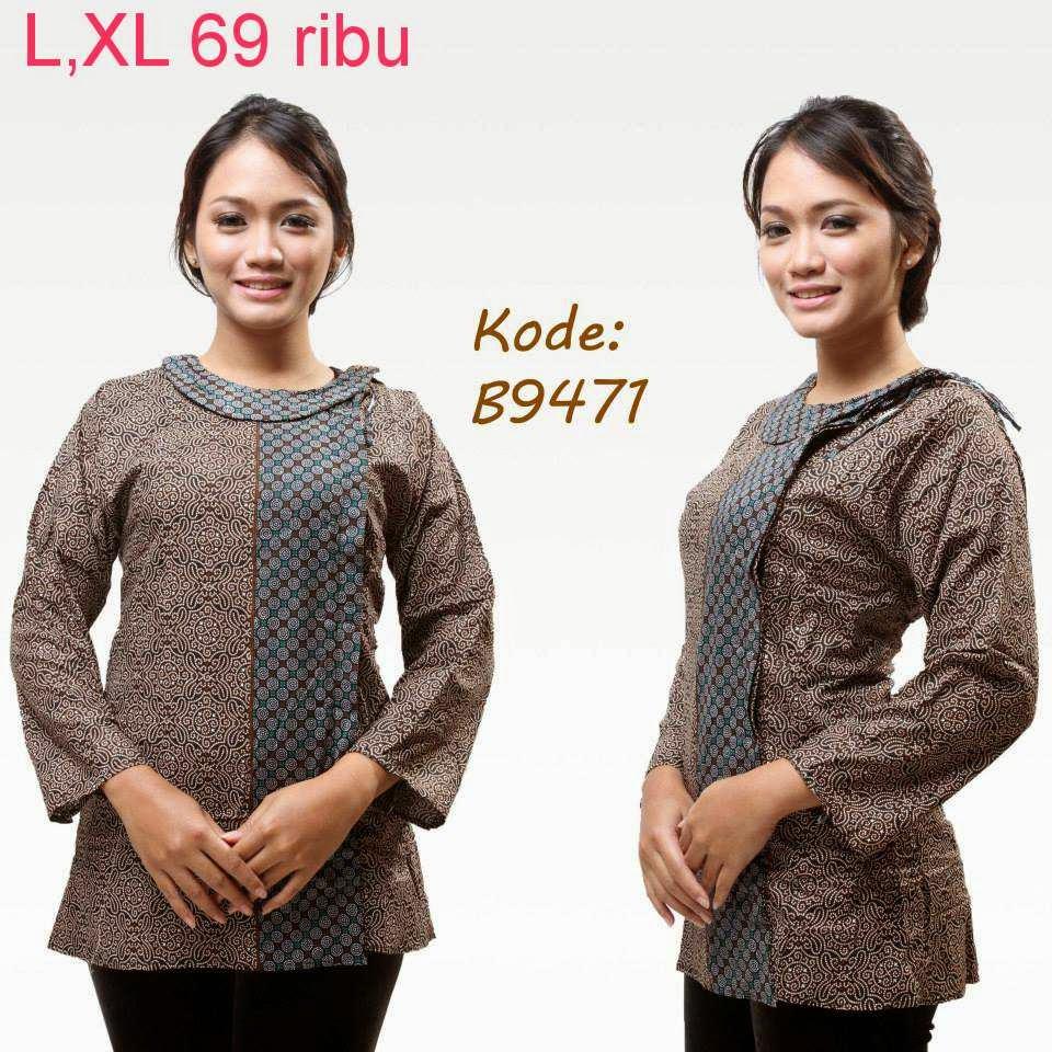 model baju batik untuk acara formal