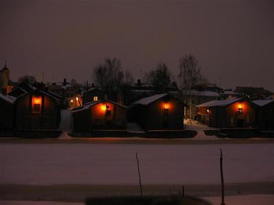 Casas de madera en Porvoo