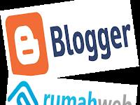 Cara custom domain blog melalui rumah web
