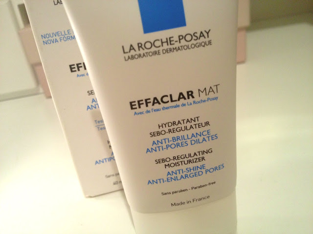 La Roche-Posay, Effaclar Mat, review, moisturiser, oily skin