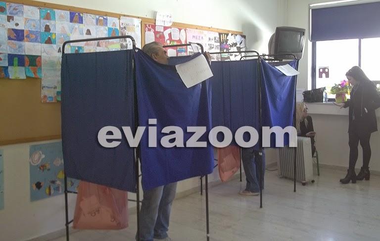 Χαλκίδα: Ομαλά εξελίσσεται η εκλογική διαδικασία (ΦΩΤΟ & ΒΙΝΤΕΟ)