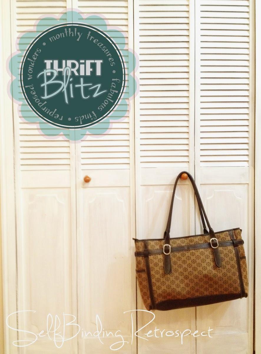 Thrift Blitz Episode One: Travel Bag - SelfBinding Retrospect by Alanna Rusnak