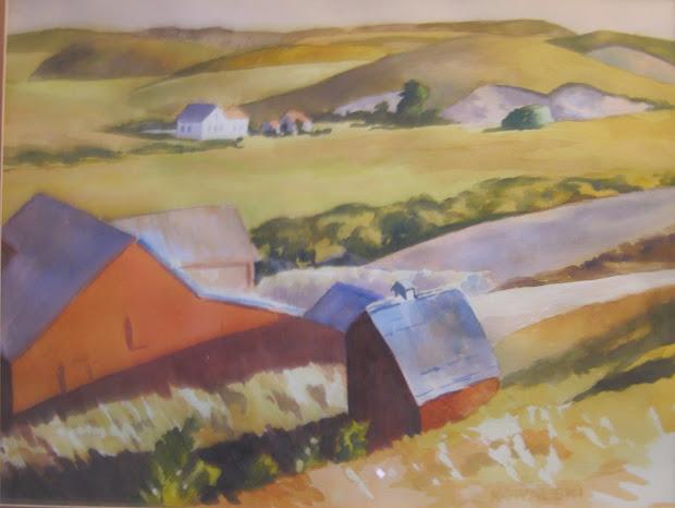 Farm Country, after Edward Hopper