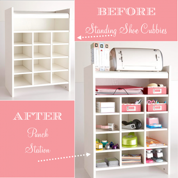 Abounding treasures designs diy craft storage ideas Homemade craft storage ideas