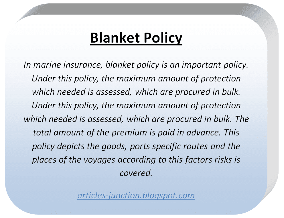 blanket antithesis policy