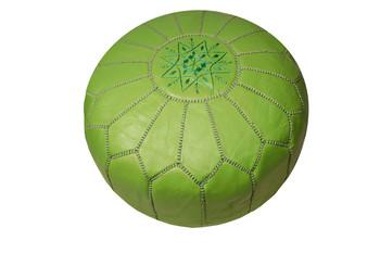 Green Moroccan Pouf